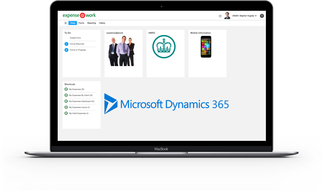 expenses for dynamics 365